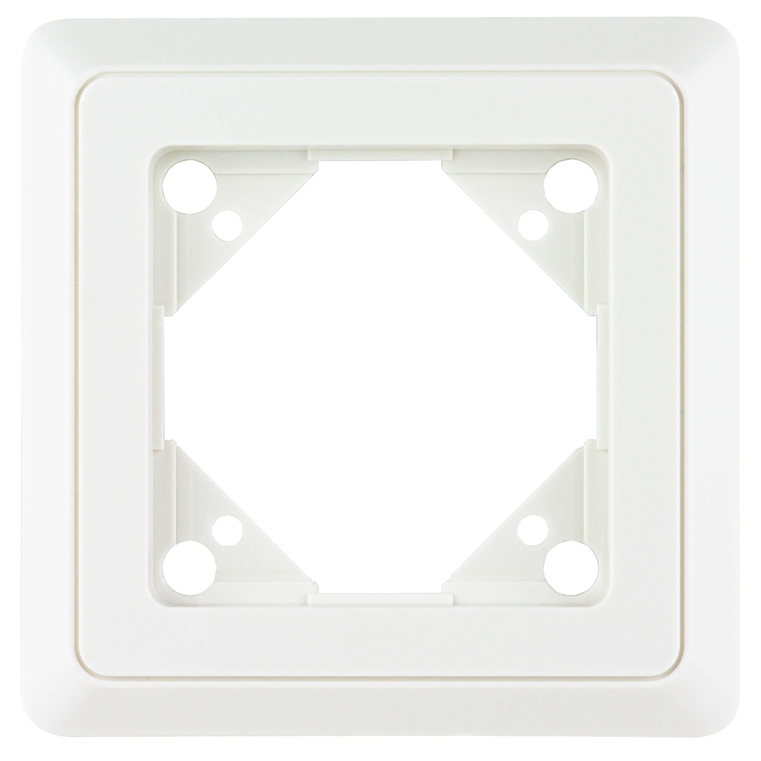 PrimaLuxe 1-fach Rahmen weiss