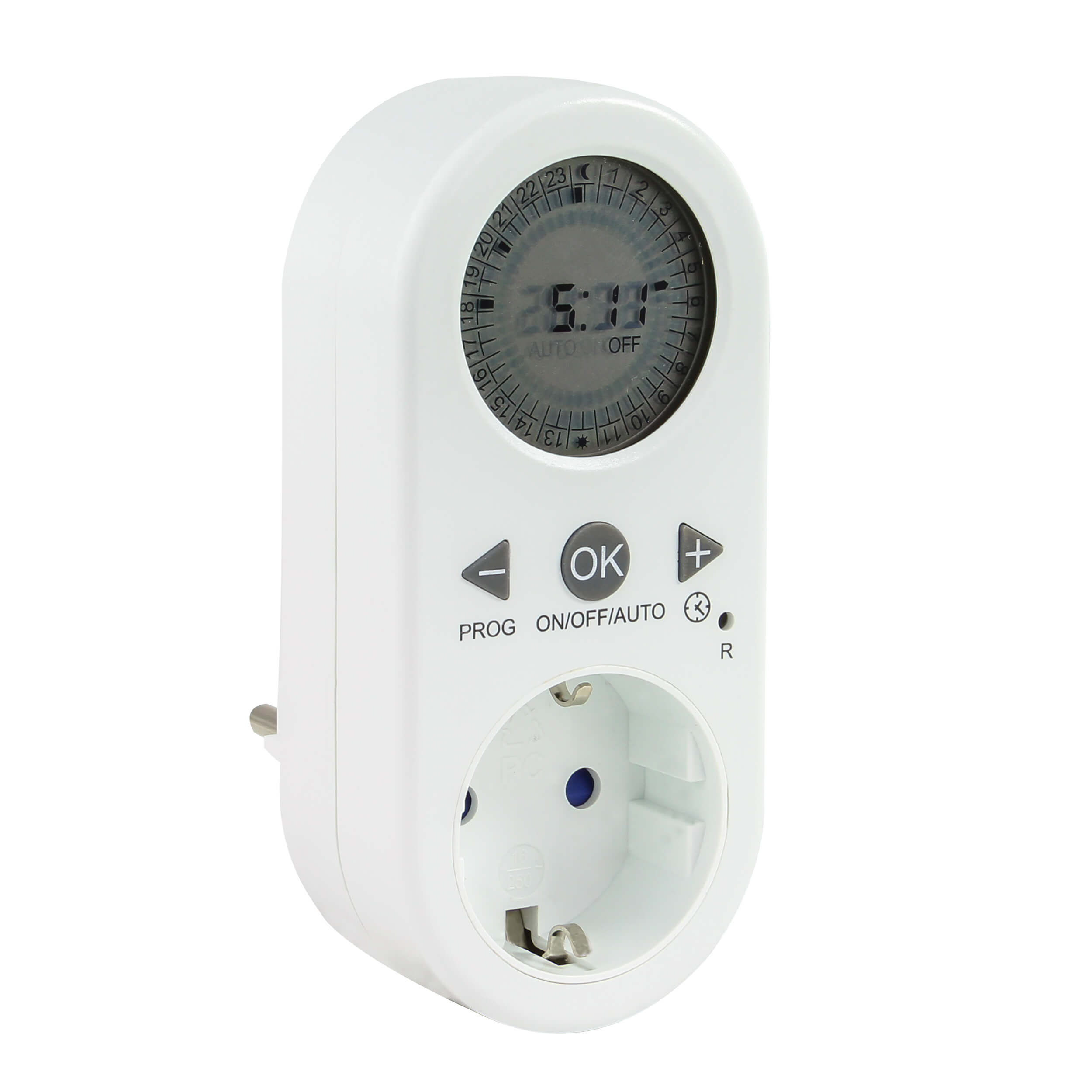 Zeitschaltuhr digital für den Innenbereich, bis 1800W, 48 Schaltzeiten am Tag