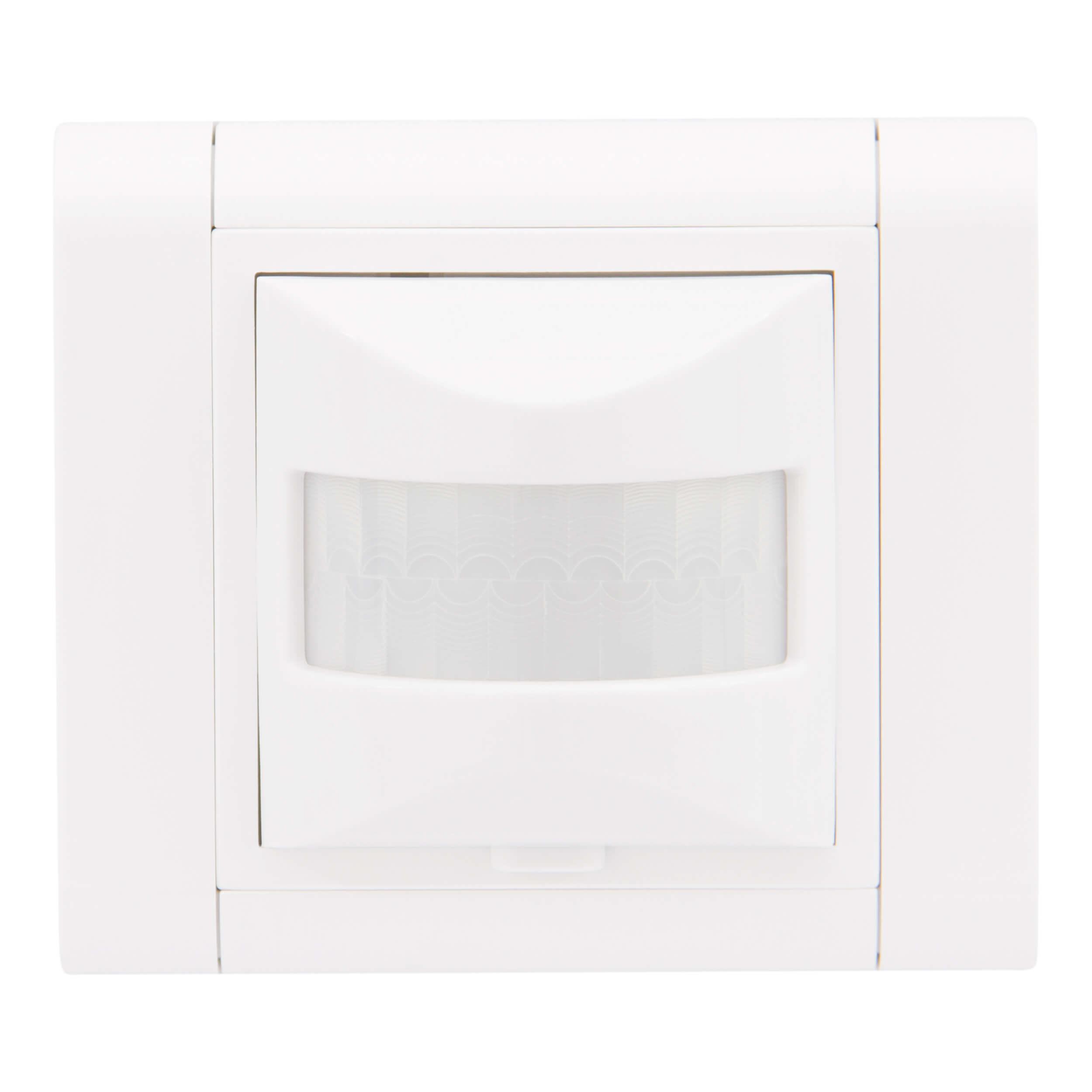 Novaclip Bewegungsmelder für Glüh- und Halogenlampen, inkl. Rahmen weiss