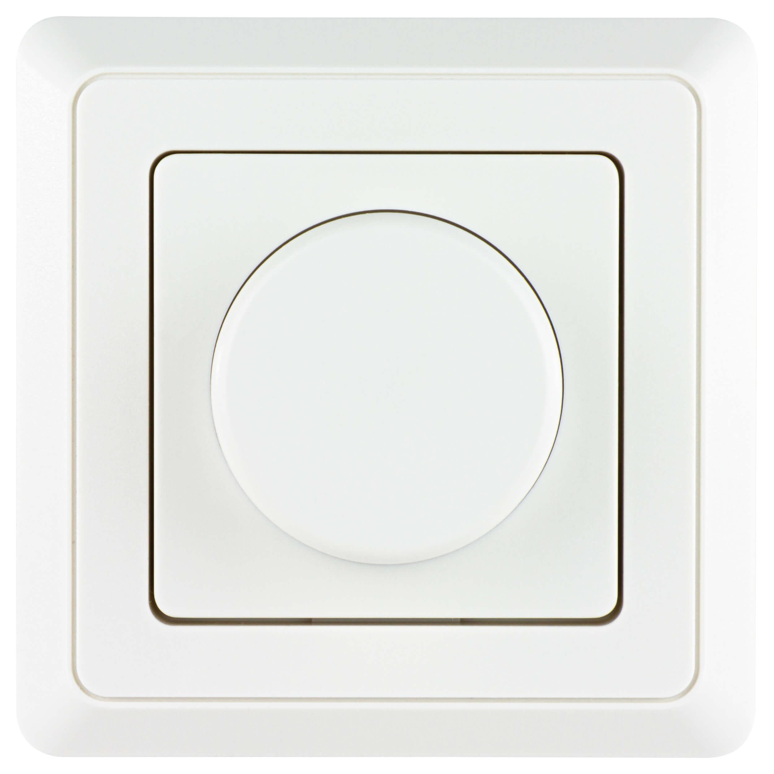 PrimaLuxe LED-Helligkeitsregler weiss